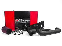 ES#2863346 - 003910ECS01-02 - Luft-Technik Intake System - With Heat Shield & Wrinkle Black Aluminum Tubes - In House Engineered
