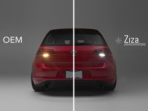 ES#2984755 - 015779ziz01aKT - LED Reverse Light Kit - Illuminate the path behind you with these bright LED's from ZiZa! - ZiZa - Volkswagen