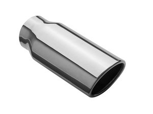 "ES#2616007 - 35129 - Universal Exhaust Tip - 2.5""X3.2"" - Priced Each - Double wall stainless steel. 2.25"" inlet, Oval 2.5""x3.2"" outlet. - Magnaflow - Audi Volkswagen"