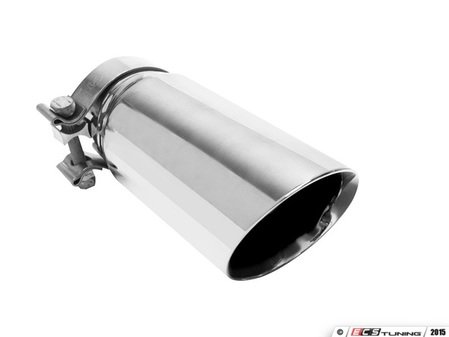 "ES#2618191 - 35210 - Universal clamp on Exhaust Tip - 3.5"" - Priced each - Double wall stainless steel. 2.75"" inlet, 3.5"" outlet. - Magnaflow - Audi Volkswagen"