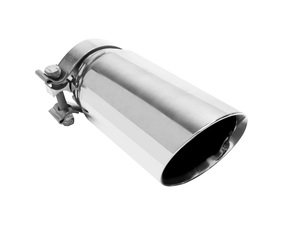 """ES#2617454 - 35211 - Universal Clamp On Exhaust Tip - 3.5"""" - Priced Each - Double wall stainless steel. 3"""" inlet, 3.5"""" outlet. - Magnaflow - Audi Volkswagen"""