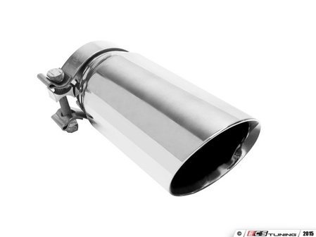 "ES#2617454 - 35211 - Universal Clamp On Exhaust Tip - 3.5"" - Priced Each - Double wall stainless steel. 3"" inlet, 3.5"" outlet. - Magnaflow - Audi Volkswagen"