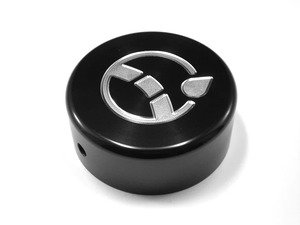 ES#2984683 - J004-BLK - Power Steering Reservoir Cap - Black Anodized - Billet aluminum power steering cap cover to dress up your green plastic one - JCAPS - Audi Volkswagen