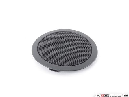 ES#99983 - 51417158469 - Black Door Speaker Cover - Priced Each - Replace your broken speaker cover - Genuine BMW - BMW
