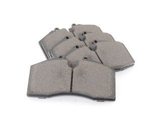 ES#2855381 - st105.06090 - Posi-Quiet Ceramic Brake Pads - For ST-40 4 piston calipers - StopTech - Audi Volkswagen