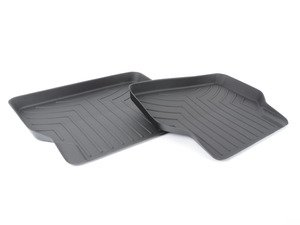 ES#2837607 - 441642 - rear FloorLiner DigitalFit - Black - Laser measured for perfect fitment and ultimate protection against moisture and debris - WeatherTech - BMW