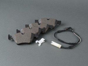 ES#2798224 - 34112288878 - Set Of Front Brake Pads With Wear Sensors - Value line Kit! - Genuine BMW - BMW