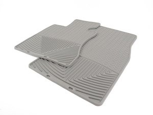 ES#2194985 - W62GR - Front All-Weather Floor Mats - Grey - All-weather protection to endure the harshest conditions - WeatherTech - BMW