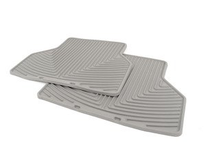 ES#2193863 - W143GR - Rear All-Weather Floor Mats - grey - All-weather protection to endure the harshest conditions - WeatherTech - BMW