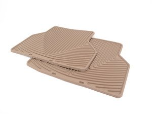 ES#2193864 - W143TN - Rear Rubber Mats - Tan - All-weather protection to endure the harshest conditions - WeatherTech - BMW