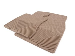 ES#2194986 - W62TN - Front All-Weather Floor Mats - Tan - All-weather protection to endure the harshest conditions - WeatherTech - BMW
