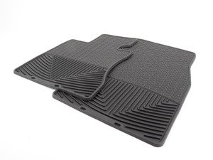 ES#2194984 - W62 - Front Rubber Mats - Black - All-weather protection to endure the harshest conditions - WeatherTech - BMW