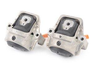 ES#2966476 - 8R0198381F - Engine Mount Kit - Eliminate excessive engine vibrations with new mounts - Hamburg Tech - Audi