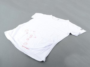 ES#2957495 - ACMAWL225WHTLG - Well Engineered Maternity T-Shirt - Large - Let everyone know you have a future Audi driver on the way - Genuine Volkswagen Audi - Audi