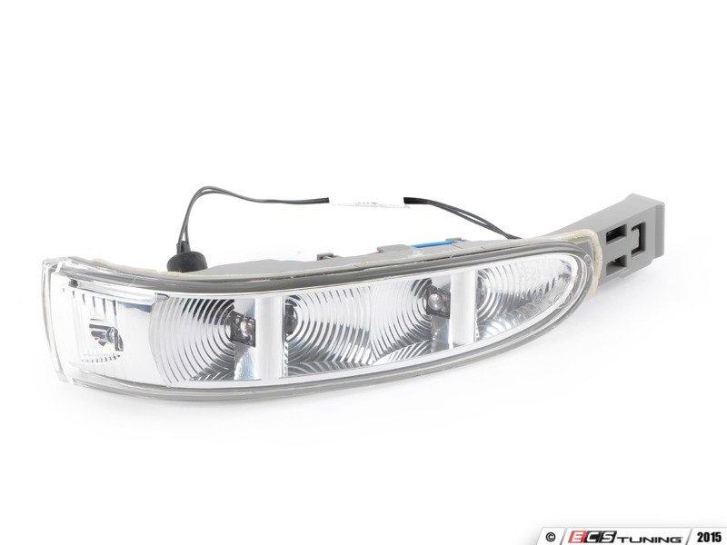 Genuine mercedes benz 1648200521 mirror turn signal for Mercedes benz side mirror turn signal