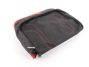 ES#2530735 - 52122219889 - Backrest Pocket 'sport' - Fb. Black/Red - Genuine BMW - BMW