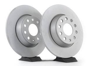ES#2855679 - 1k0615601mmKT -  Rear Brake Rotors - Pair (282x12) - Restore the stopping power in your vehicle with these Geomet coated rotors - Optimal - Audi Volkswagen