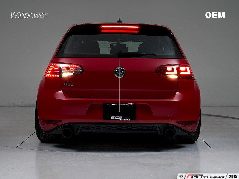 Ecs News Vw Mk7 Golf Gti R Led Tail Lights