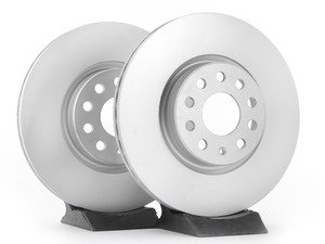 ES#2855130 - 1k0615301aaateKT -  Front Brake Rotors - Pair (312x25) - Restore the stopping power in your vehicle - ATE - Audi Volkswagen
