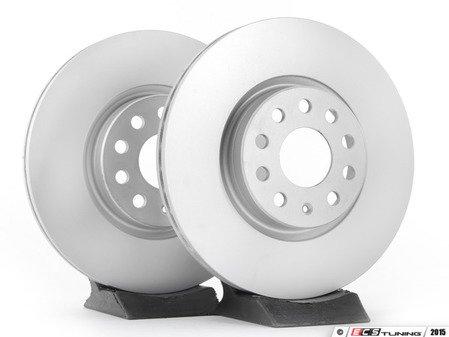 ES#2855130 - 1k0615301aaateKT -  Front Brake Rotors - Pair (312x25) - Restore the stopping power in your vehicle - ATE - Audi Volkswagen