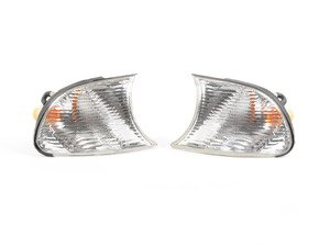 ES#2808242 - 4441512PAE - Smoked Corner Assembly - Pair - Direct replacements for the stock amber corner lights - Depo - BMW