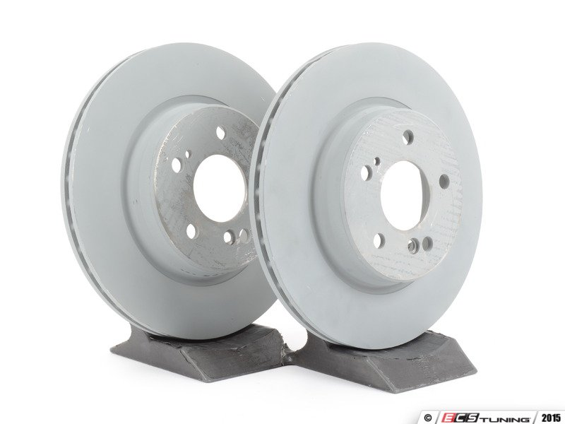Genuine Mercedes Benz 1294230312kt1 Rear Brake Rotors