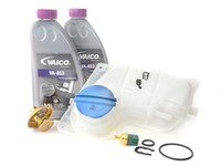 ES#2778113 - 078121113FKT1 - Cooling System Refresh Kit - Service your critical cooling system components with this complete kit. - Assembled By ECS - Audi