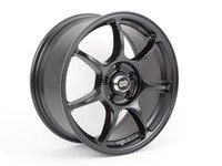 "ES#2864877 - 4687754445BKKT - 17"" Fujin - Set of four - 17""X7.5"" ET45 5x112 - Black - Enkei Wheels - Audi Volkswagen"