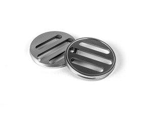 ES#2984684 - J005 - Dash Vent Set - Clear Anodized - Billet aluminum replacements for your black plastic dashboard vents - JCAPS - Volkswagen