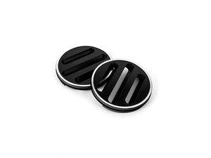 ES#2984685 - J005-BLK - Dash Vent Set - Black Anodized - Billet aluminum replacements for your black plastic dashboard vents - JCAPS - Volkswagen