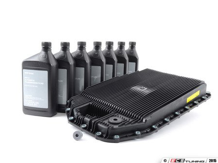 ES#2523894 - 24117571217 - Automatic Transmission Service Kit - Level 2 - Includes all the necessary components for a complete transmission service with genuine BMW M1375.4 fluid - Assembled By ECS - BMW