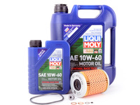 ES#2960049 - 11427833769LMKT - Inspection I/Oil Service Kit - Everything needed for a complete oil service including Liqui Moly Race Tech GT1 oil and a MANN filter - Assembled By ECS - BMW