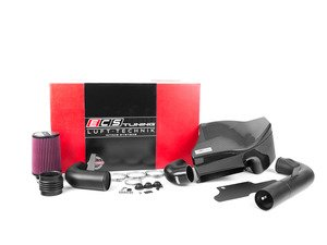"ES#2981600 - 004264ECS01-02 - Kohlefaser Luft-Technik Intake System - With Carbon Fiber Box & Wrinkle Black Aluminum Tubes - In House Engineered ""Air Technology"" for maximum performance and stunning aesthetics - ECS - Volkswagen"