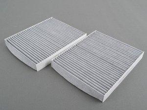 ES#2900024 - 64119272642 - Cabin Filter set - Charcoal activated cabin filter set - Vemo - BMW