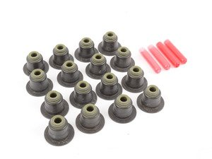 ES#3191404 - 11340039494 - Valve Stem Seal Kit - Address issues caused by oil leaks such as smoking, carbon build up, and spark plug foul outs. Symptoms sometimes appear similar to failing turbos. - Corteco -