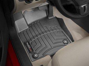 ES#2837668 - 443381 - Front FloorLiner DigitalFit - Black - Laser measured for perfect fitment and ultimate protection against moisture and debris - WeatherTech - Volkswagen