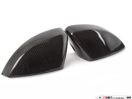 ES#2972731 - 011121ecs03 - Carbon Fiber Mirror Cap Set - Upgrade your exterior look - ECS - Audi