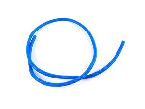 "ES#1899364 - 7700k151 - Split Wire Loom, 3/8"" Diameter, 5' Length - Blue - Protect, organize, and dress up your engine bay with convoluted tubing! - ECS - Audi BMW Volkswagen Mercedes Benz MINI Porsche"