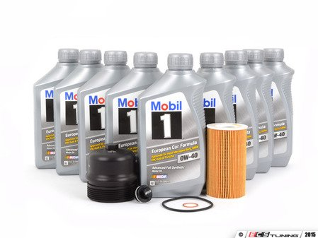ES#2992142 - 99610722553KT17 - GT3 Oil Service Kit With ECS Magnetic Drain Plug and Billet Oil Filter Cap - Everything you will need to complete an oil change - Assembled By ECS - Porsche