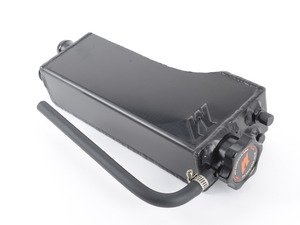 """ES#2951876 - MMRT-E36-92EBK -  Black Aluminum Coolant Expansion Tank - Keep your car cool and prepared for hot conditions and end """"spontaneous combustion"""" of plastic expansion tanks. - Mishimoto - BMW"""
