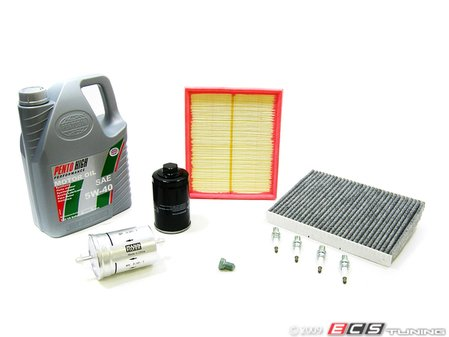 ES#3903 - B5PAWMLV40KSK - 40k Scheduled Service Kit  - Everything you need to perform the recommended 40k mile service - Assembled By ECS - Volkswagen