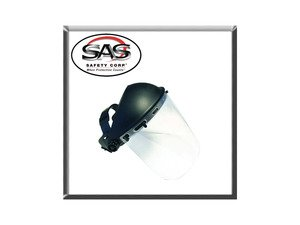 ES#2949038 - SAS5145 - Deluxe Clear Face Shield - Protect your face, eyes, nose and mouth. Even your ears. - SAS Safety - Audi BMW Volkswagen Mercedes Benz MINI Porsche