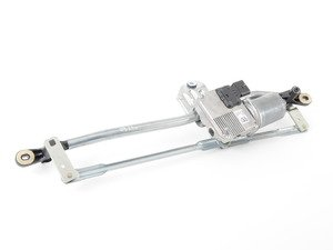 ES#449292 - 8J1955023D - Windshield Wiper Bracket With Motor - Located under the rain tray - Genuine Volkswagen Audi - Audi