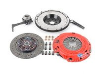 ES#3098728 - kmk7fssoKT - Stage 3 Daily Clutch Kit - With Steel Flywheel - Designed for high-powered street cars while capable enough to handle the track. Conservatively rated at 500ft/lbs. - South Bend Clutch - Volkswagen