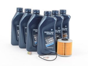 ES#2723020 - M42OSgKT - Genuine BMW Inspection I/Oil Change Kit  - Everything you need to perform a basic oil change using genuine BMW components - Genuine BMW - BMW