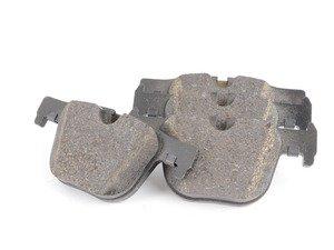 ES#2584066 - 34216850570 - Rear Brake Pad Set - Original equipment pads from BMW - Genuine BMW - BMW