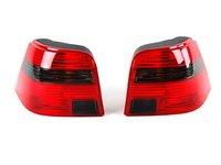 ES#5606 - 1j6945095ac096ac - GTI Tail Light - Pair - US-Spec GTI tail lights with smoked turn signal lenses - Genuine Volkswagen Audi - Volkswagen