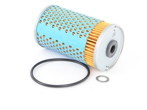 ES#2603165 - 0001802409 - Engine Oil Filter Kit - Includes all o-rings needed for installation - Hengst - Mercedes Benz