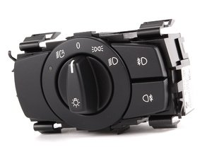 European Headlight Switch - Black