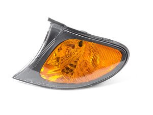 ES#2952088 - 63137165859 - Front Turn Signal Assembly - Left - Smoke ring around a amber center side marker - TYC - BMW